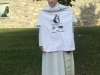The Pope rocking our AMA Pope Marketer of the Year Shirts!