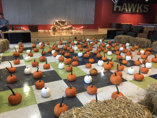 1st Annual Hawktoberfest was a huge hit. Pumpkin patch, apple cider donuts, pumpkin painting, fun, and friends!