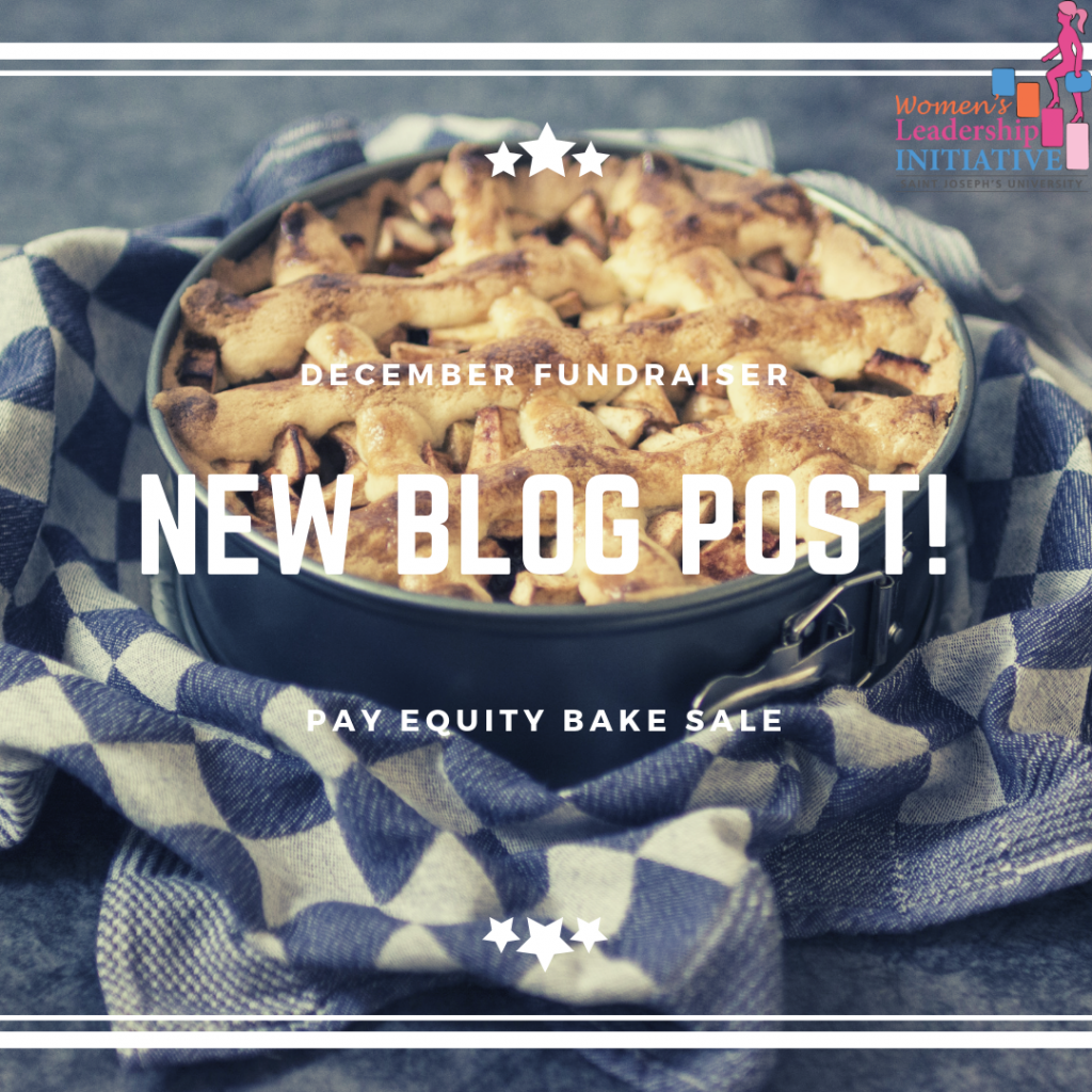 Blog cover: pay equity bake sale